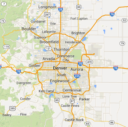 Locksmith Denver Metro Service Area