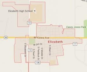 Locksmith Service Area in Elizabeth, CO