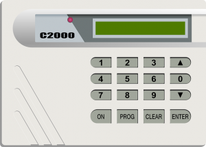 Security System Keypad installation denver