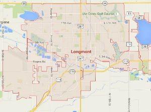 Longmont CO Locksmith Service Area