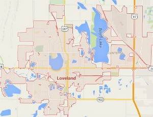Loveland Locksmith Service Area